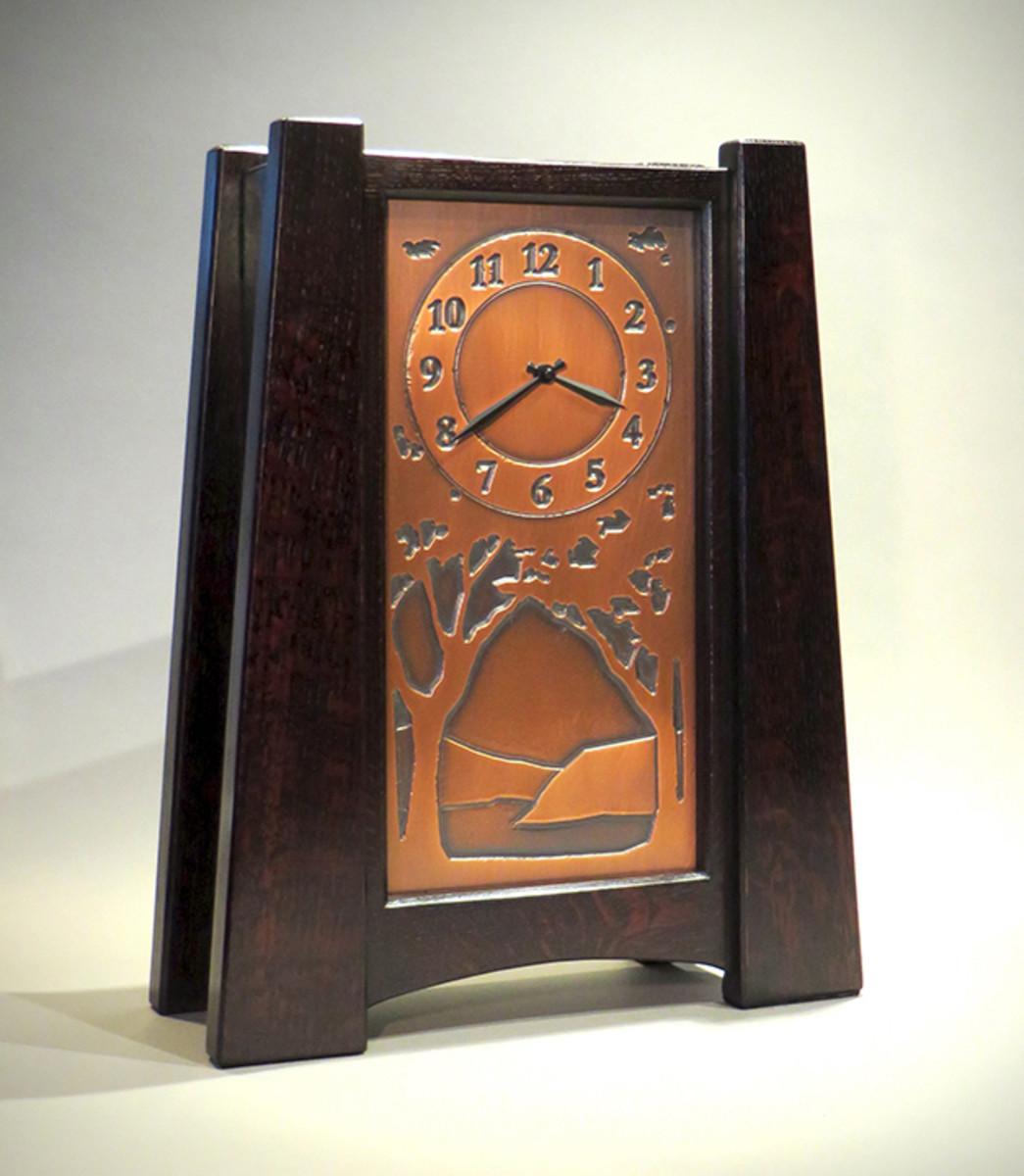 Present Time Clocks