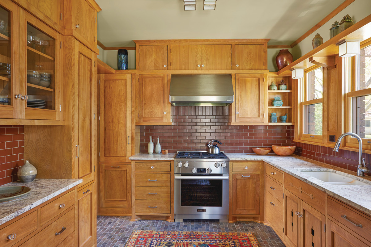 With better design, the kitchen is much more workable—no house-addition necessary.