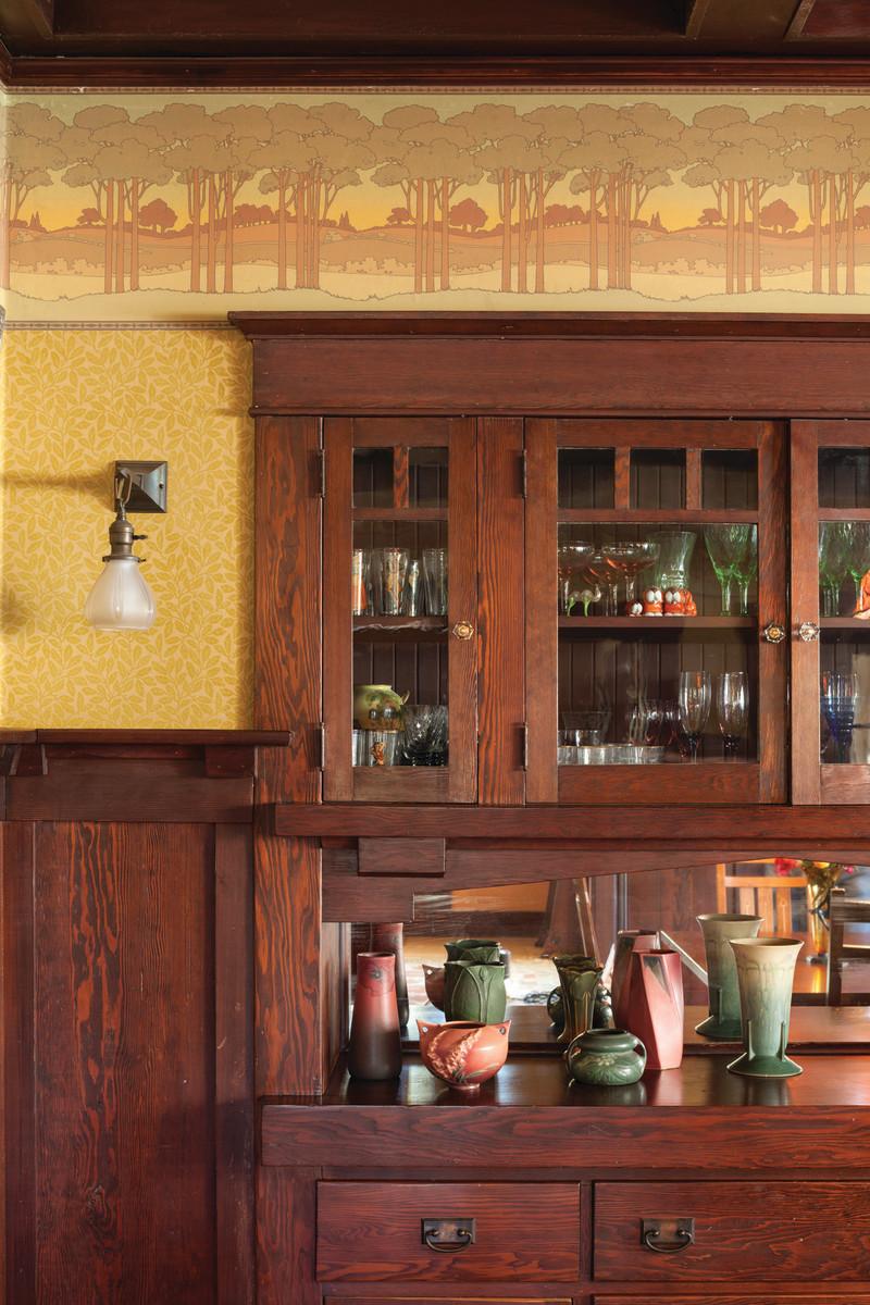 Bradbury & Bradbury frieze